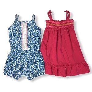 Sumer Smock Dress & Romper Girl Size 18 Months